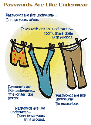 Does ur underwear and password hava a similarity??