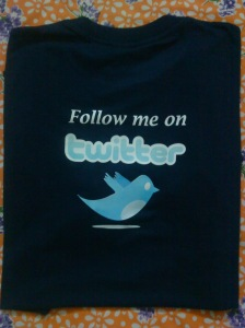 Real Twitter Tshirt - Back