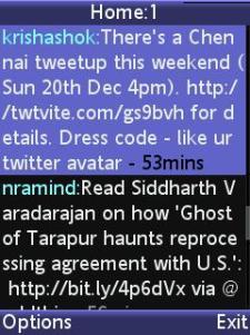Twittai - Timeline